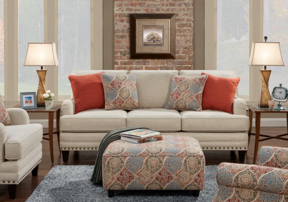 Perfect Aria Linen Sofa