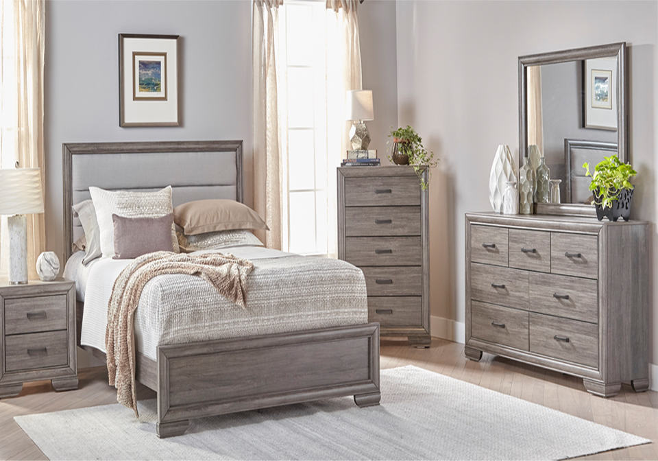 Bedroom Sets.Ladonia King Bedroom Set Lexington Overstock Warehouse