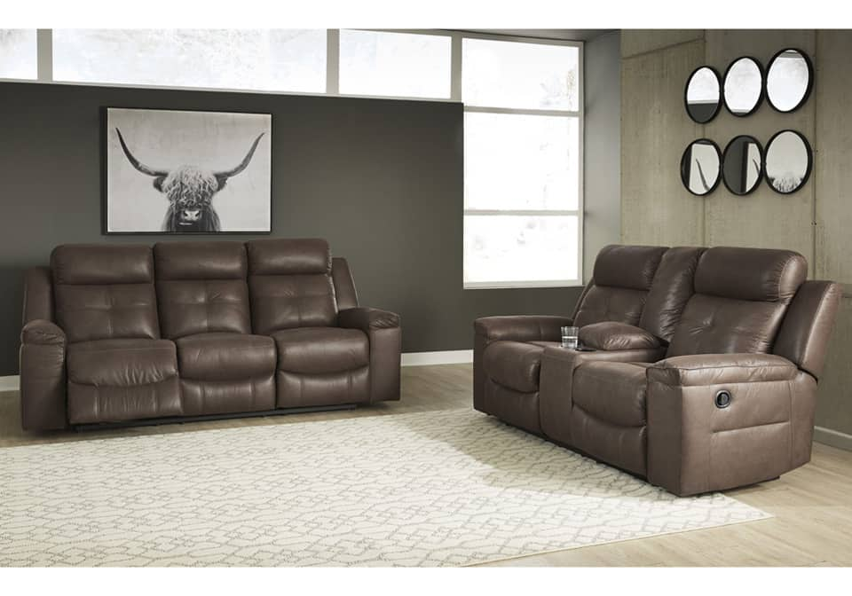 Jesolo Coffee Reclining Sofa Set