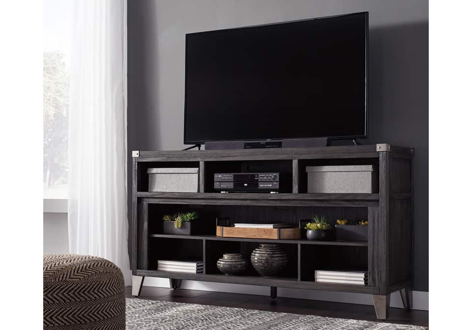 Todoe Gray Large Tv Stands