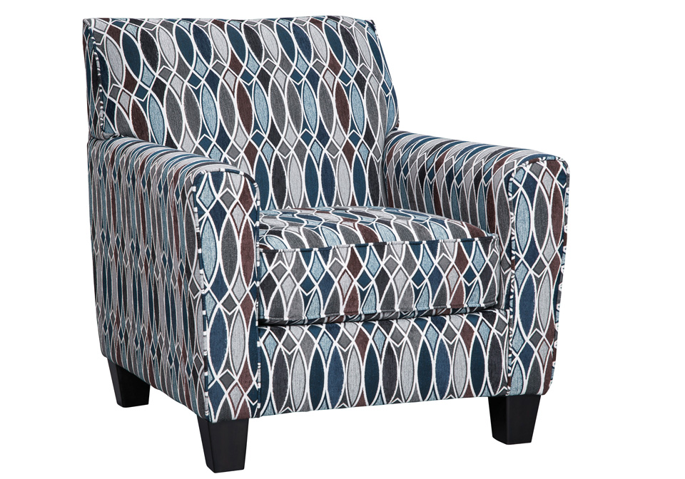 Creeal Heights Ink Accent Chair Lexington Overstock