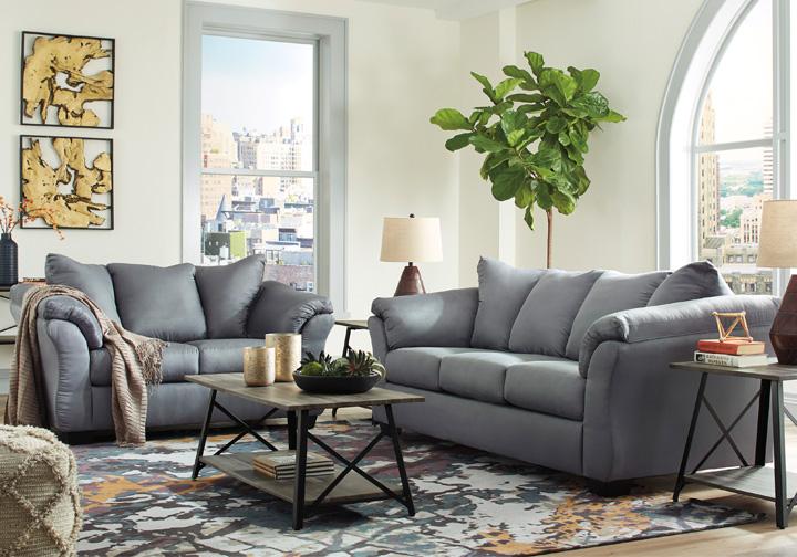 Marvelous Darcy Steel Sofa Set Dailytribune Chair Design For Home Dailytribuneorg