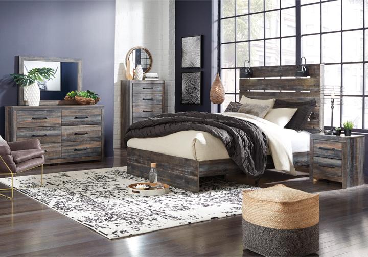 Drystan Multi Queen Panel Bedroom Set Lexington