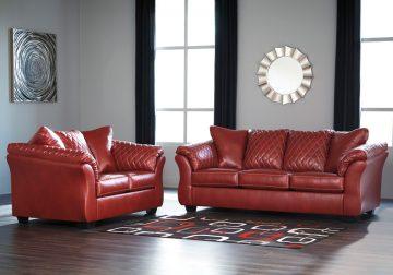 Awe Inspiring Betrillo Red Sofa Set Alphanode Cool Chair Designs And Ideas Alphanodeonline