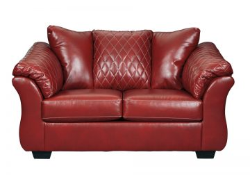 Betrillo Red Sofa Set