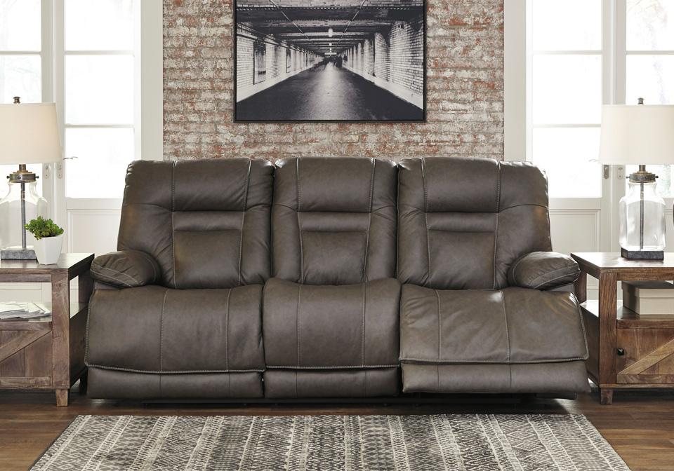 Wurstrow Smoke Power Reclining Sofa Lexington Overstock