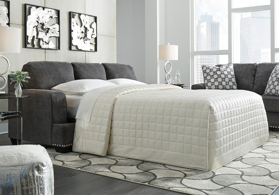 Locklin Carbon Queen Sofa Sleeper | Lexington Overstock ...