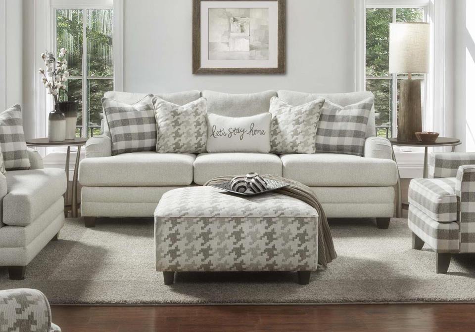 Basic Wool Sofa Set