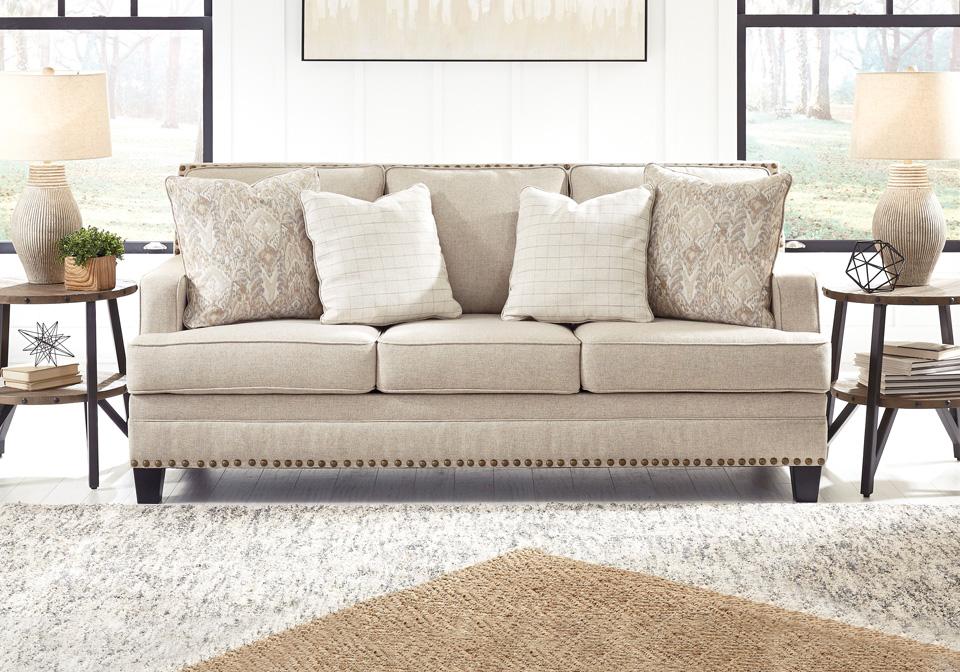 Claredon Linen Sofa | Lexington Overstock Warehouse